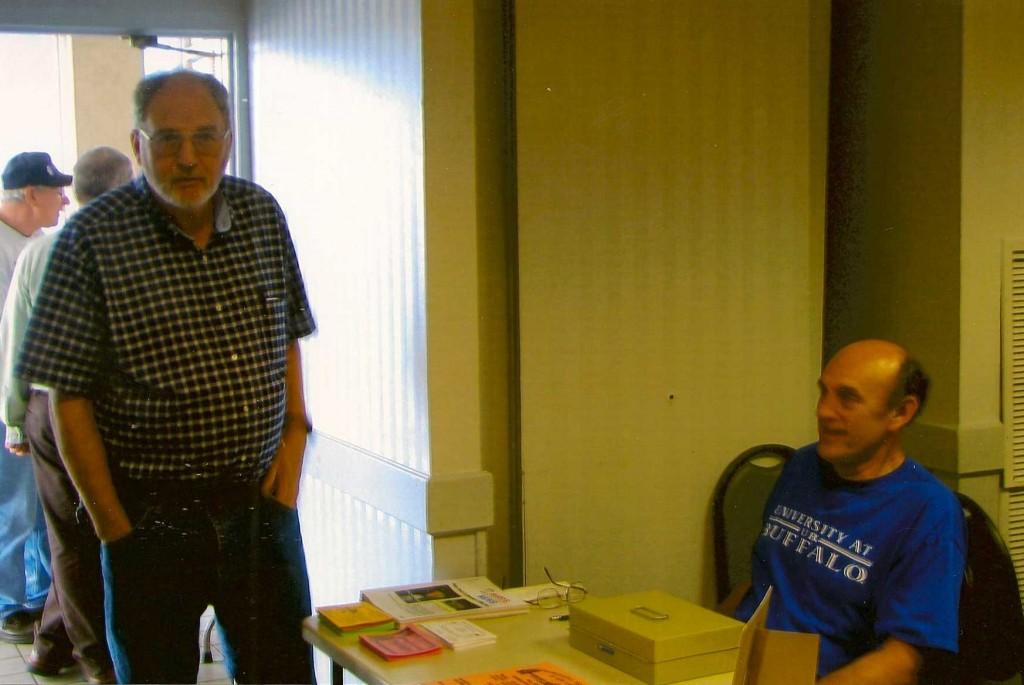 Dealer Skip Upton and Secretary Jim Smoak